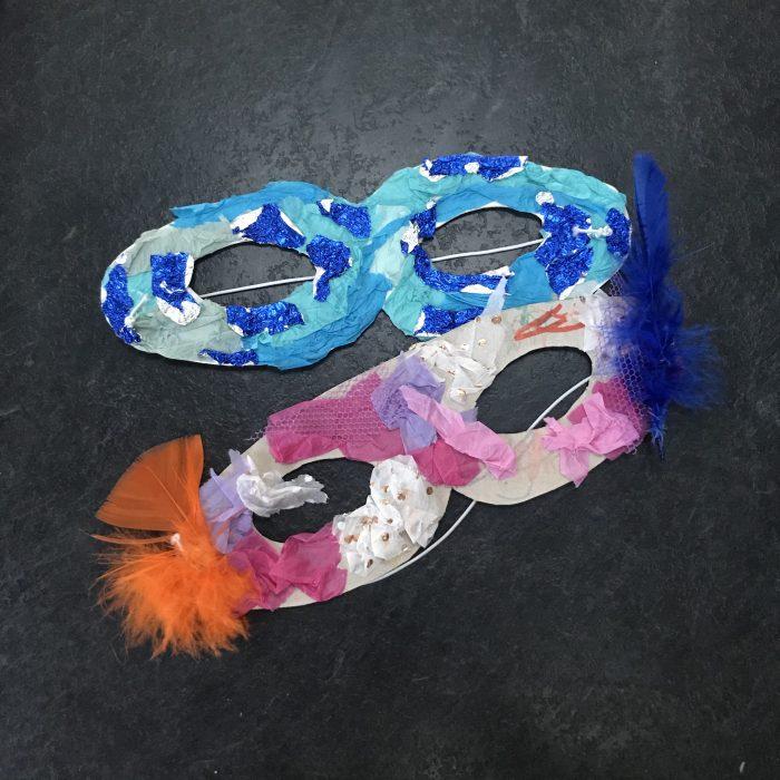 Cardboard Mask Kit