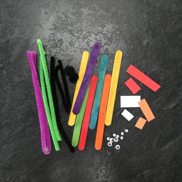 Lollipop Stick Animals
