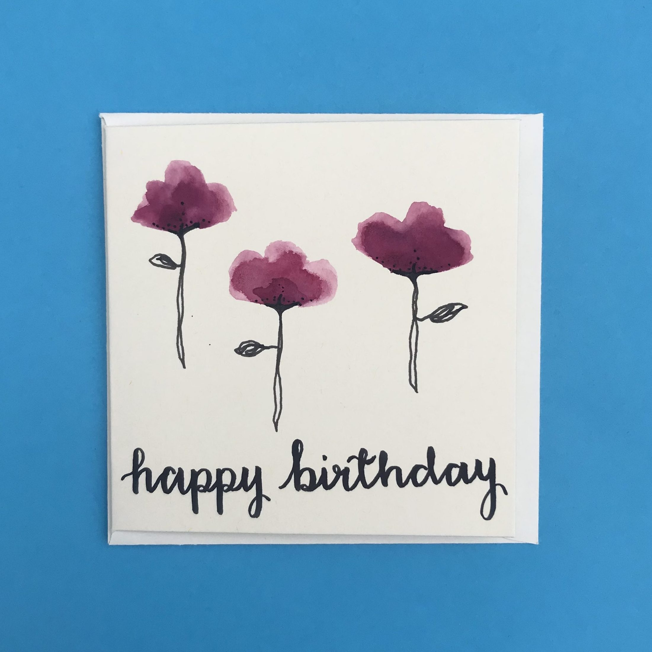 Happy Birthday Card - Look to the Light Designs