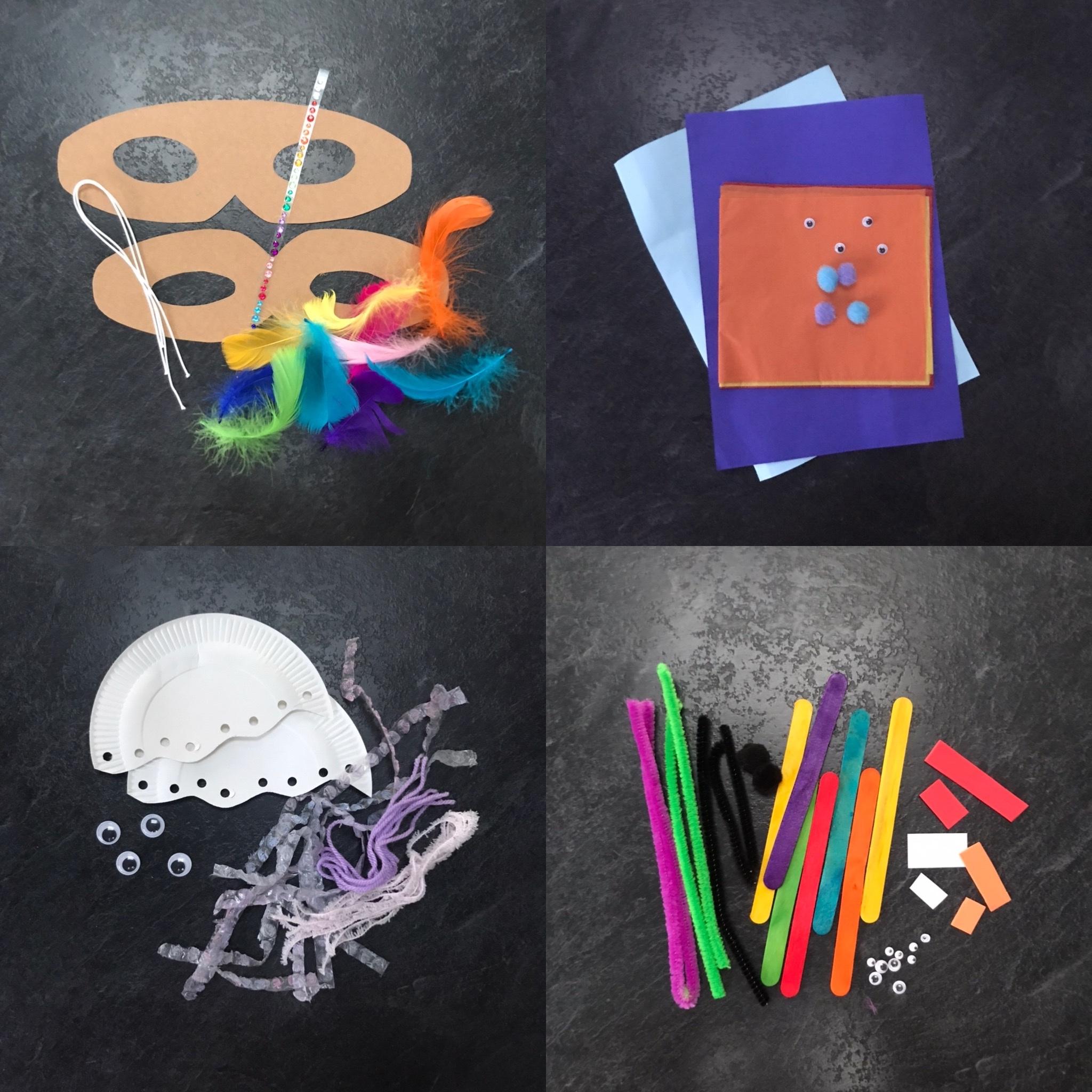 Set of four Craft Kits
