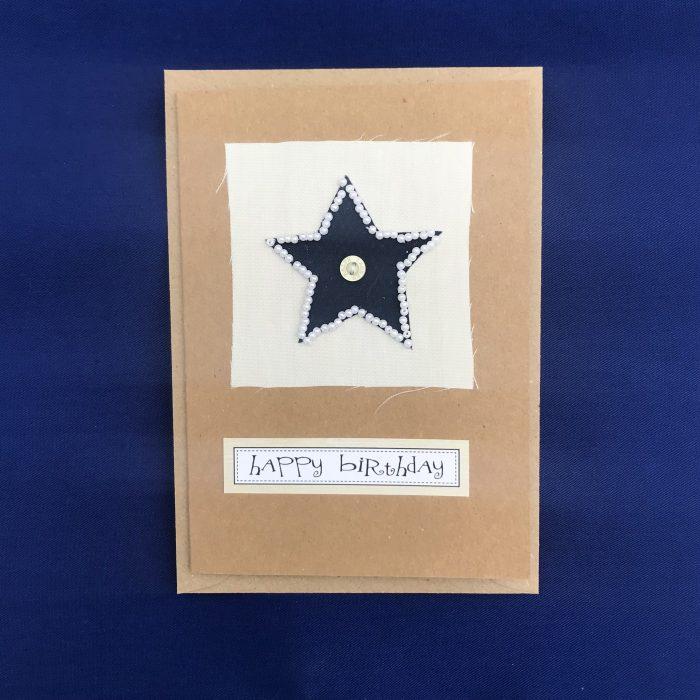 Hand stitched birthday cards