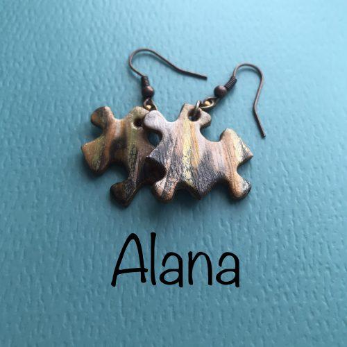 Jigsaw Jewellery Earrings - Alana