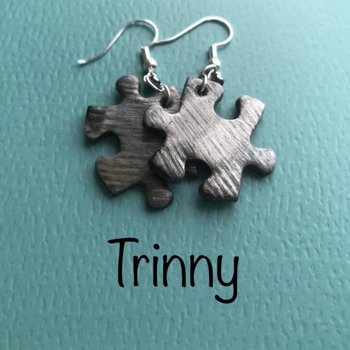 Jigsaw Jewellery Earrings - Trinny