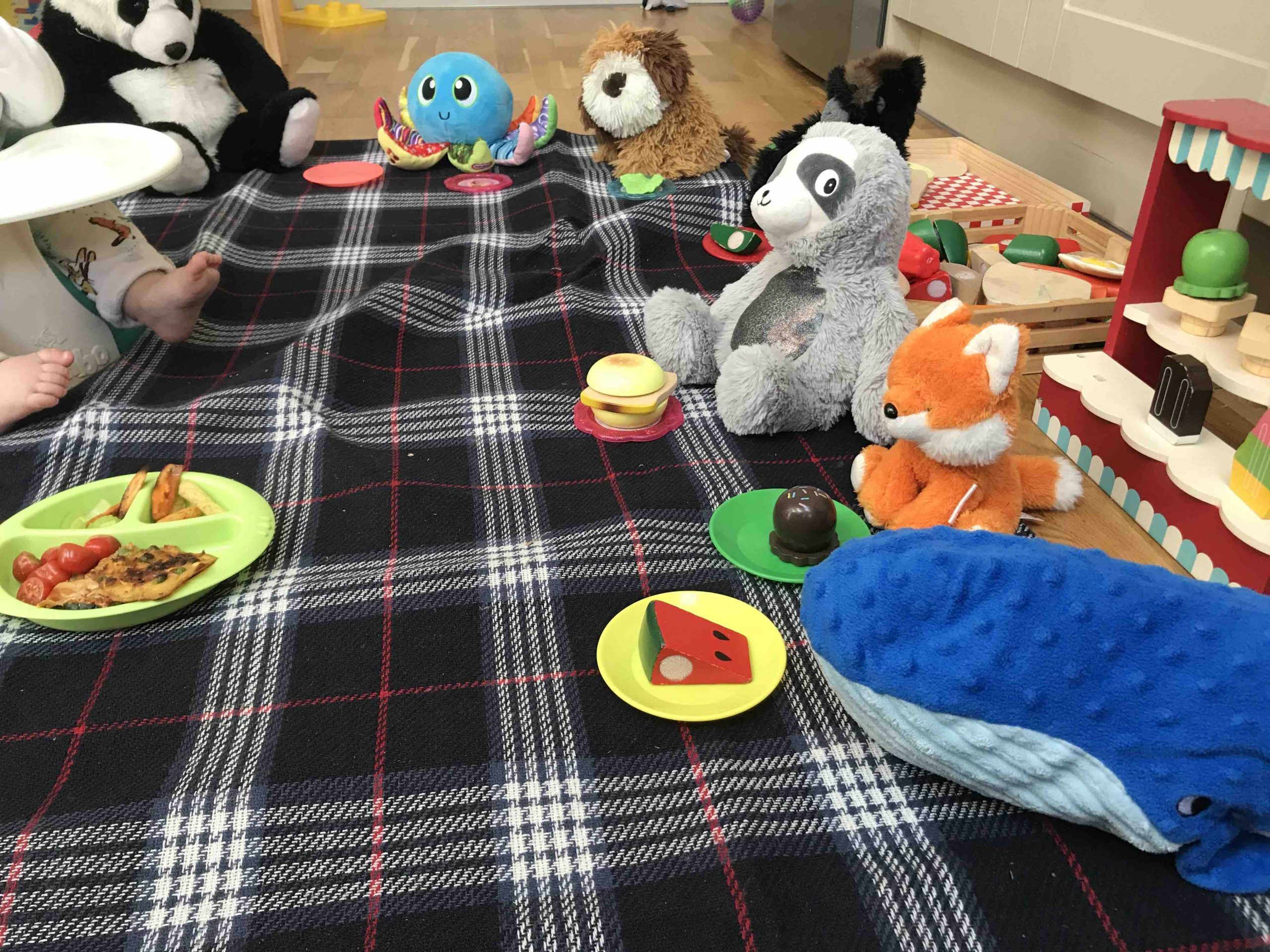 Party Time! - Indoor Picnic