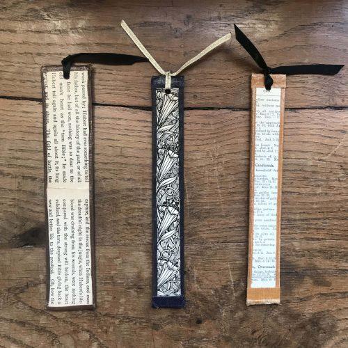 Old Book Spine Bookmarks
